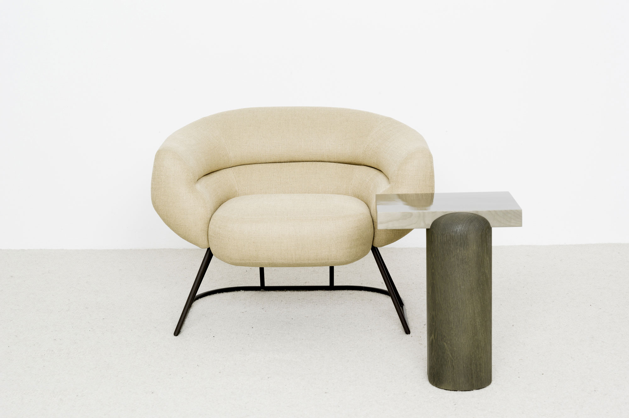 Fauteuil Dje Table Appoint Leo - Christophe Delcourt