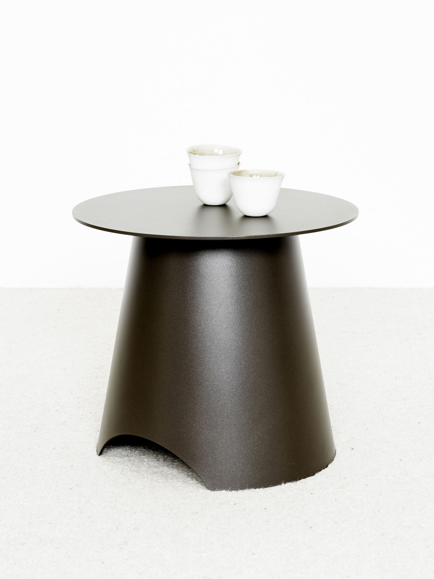 Table Appoint Max Acier - Christophe Delcourt